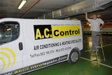 AC CONTROL AIR CONDITIONING COMPANY IN MALAGA