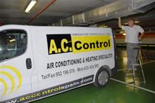 AC CONTROL AIR CONDITIONING COMPANY IN MALAGA